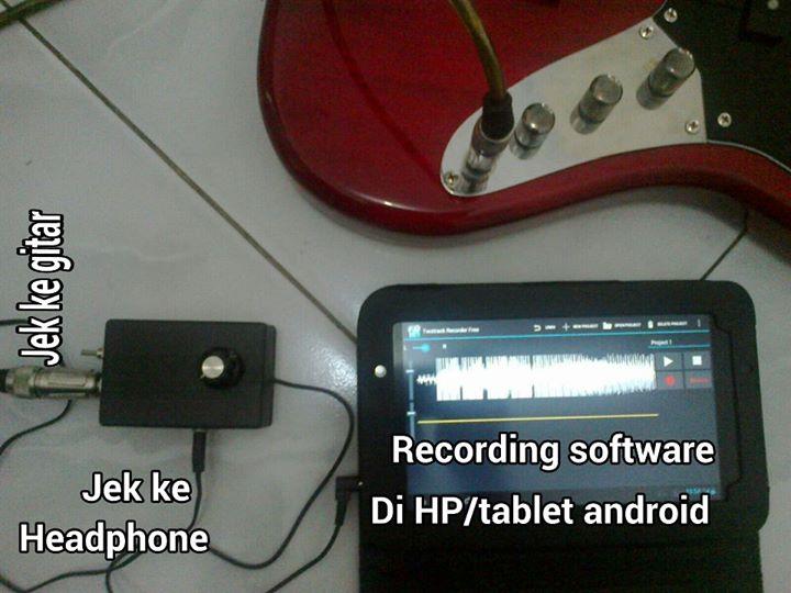 Multitrack Recording Menggunakan HP/Tablet ANDROID