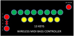 MIDI BASS CONTROLLER