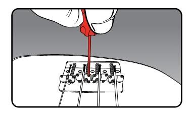 string adjust